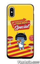 Kakao Friends - Hamburger Slide Card Phone Case (Neo) (Galaxy S9)