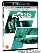 Fast & Furious (4K Ultra HD + Blu-ray) (2-Disc) (Limited Edition) (Korea Version)