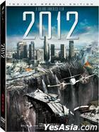 2012 (DVD) (2-Disc Special Edition) (Taiwan Version)