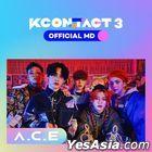 A.C.E KCON:TACT 3 Official MD - Ticket & AR Card Set