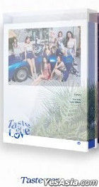 Twice Mini Album Vol. 10 - Taste of Love (Taste Version) + Photo Card Set (Taste Version) + Poster in Tube (Taste Version)