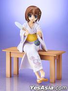 Magical Girl Lyrical Nanoha The Movie 2nd A's : Yagami Hayate Yukata Ver. 1:8 Pre-painted PVC Figure