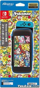 Nintendo Switch Smart Pouch EVA Pocket Monster Comic (Japan Version)