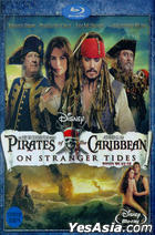 Pirates Of The Caribbean : On Stranger Tides (Blu-ray) (First Press Limited Edition) (Korea Version)