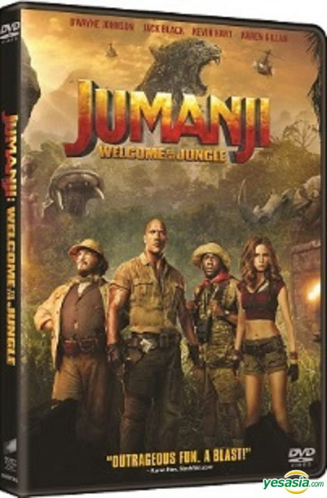 Yesasia Jumanji Welcome To The Jungle 2017 Dvd Hong Kong Version Dvd Dwayne Johnson Jack Black Intercontinental Video Hk Western World Movies Videos Free Shipping