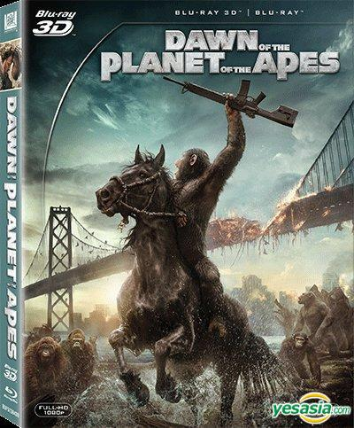 Yesasia Dawn Of The Planet Of The Apes 2014 Blu Ray 2d 3d Hong Kong Version Blu Ray Gary Oldman Andy Serkis 20th Century Fox Western World Movies Videos