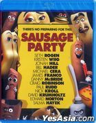 Sausage Party (2016) (Blu-ray) (Hong Kong Version)