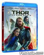 Thor: The Dark World (2013) (Blu-ray) (2D) (Hong Kong Version)