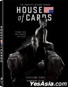 House Of Cards (2013) (DVD) (The Complete Second Season) (US Version)