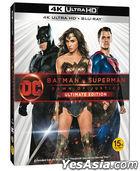 Batman v Superman: Dawn of Justice (4K Ultra HD + Blu-ray) (First Press O-ring Ultimate Limited Edition) (Korea Version)