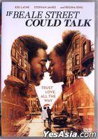 If Beale Street Could Talk (2018) (DVD) (Hong Kong Version)