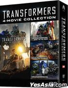 Transformers 4-Movie Collection (DVD) (Hong Kong Version)