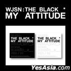 WJSN THE BLACK Single Album - My Attitude (Version 1 + 2) + 2 Posters in Tube