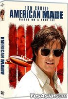 American Made (2017) (DVD) (Hong Kong Version)