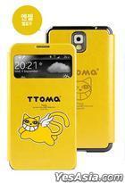Samsung Galaxy Note 3 TTOMA View Flip Case (Angel Yellow)