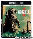 Godzilla (2014) (4K Ultra HD + Blu-ray) (Hong Kong Version)