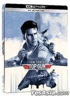 Top Gun (1986) (4K Ultra HD Remastered Edition) (Steelbook) (Hong Kong Version)