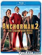 Anchorman 2: The Legend Continues (2013) (Blu-ray) (Korea Version)
