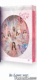 Twice Mini Album Vol. 10 - Taste of Love (In Love Version) + Photo Card Set (In Love Version) + Poster in Tube (In Love Version)