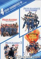 Police Academy 1-4 Collection: 4 Film Favorites (DVD) (US Version)