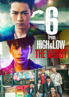 6 from HiGH&LOW THE WORST (BLU-RAY) (初回限定版)(日本版)