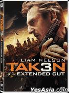Taken 3 (2014) (DVD) (Hong Kong Version)