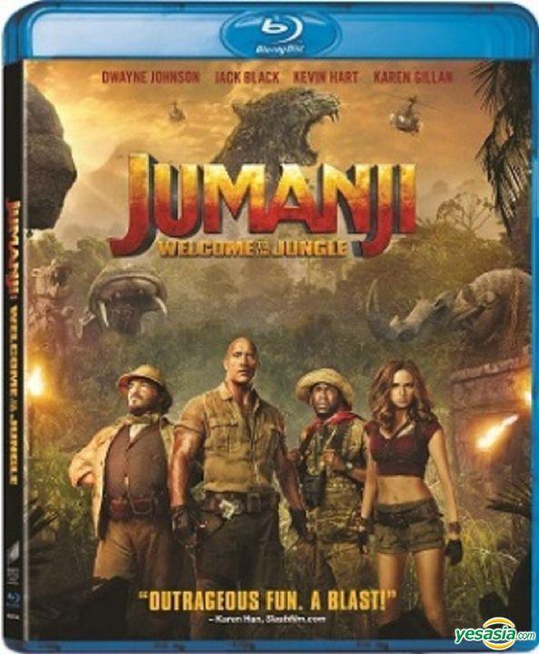 Yesasia Jumanji Welcome To The Jungle 2017 Blu Ray Hong Kong Version Blu Ray Dwayne Johnson Jack Black Intercontinental Video Hk Western World Movies Videos Free Shipping