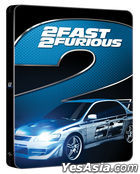 2 Fast 2 Furious (Blu-ray) (Steelbook Limited Edition) (Korea Version)