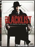 The Blacklist (DVD) (The Complete First Season) (Hong Kong Version)