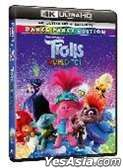 Trolls World Tour (2020) (4K Ultra HD + Blu-ray) (Hong Kong Version)