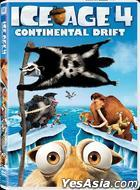 Ice Age 4 : Continental Drift (2012) (DVD) (Hong Kong Version)