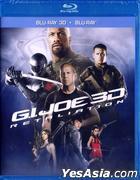G.I. Joe 2: Retaliation (2013) (Blu-ray) (2D + 3D) (Hong Kong Version)