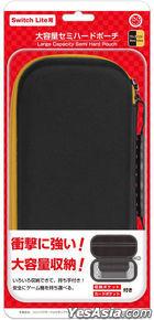 Nintendo Switch Lite Semi Hard Pouch L (Black / Yellow) (日本版)