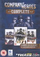 Company Of Heroes (Complete) (English Version) (DVD Version) (Mac Version)