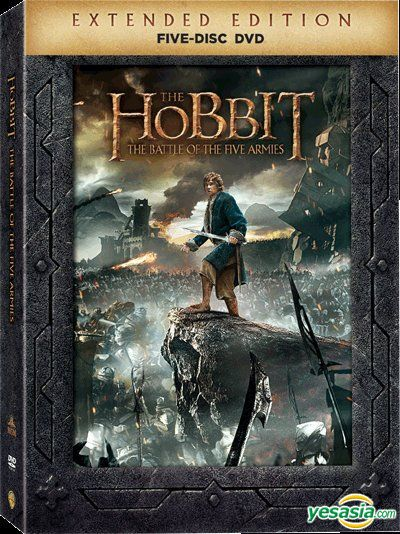 Yesasia The Hobbit The Battle Of The Five Armies 2014 Dvd 5 Disc Extended Edition Hong Kong Version Dvd Richard Armitage Ian Mckellen Deltamac Hk Western World Movies Videos Free Shipping