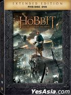 The Hobbit: The Battle of the Five Armies (2014) (DVD) (5-Disc Extended Edition) (Hong Kong Version)
