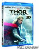 Thor: The Dark World (2013) (Blu-ray) (3D) (Hong Kong Version)
