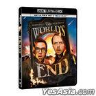 The World's End (2013) (4K Ultra HD + Blu-ray) (Taiwan Version)