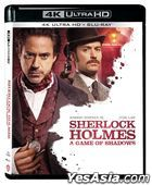 Sherlock Holmes: A Game of Shadows (2011) (4K Ultra HD + Blu-ray) (Hong Kong Version)