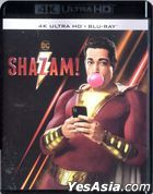 Shazam! (2019) (4K Ultra HD + Blu-ray) (Hong Kong Version)
