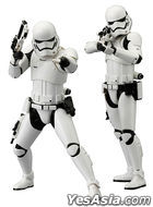 STAR WARS : ARTFX+ STAR WARS First Order STORMTROOPER 1:10 PVC Pre-painted Kit 2 Pack