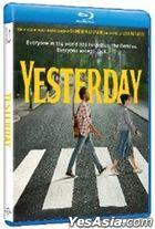 Yesterday (2019) (Blu-ray) (Hong Kong Version)