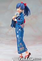 IDOLM@STER : Kisaragi Chihaya Yukata Ver. 1:8 Pre-painted PVC Figure