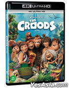 The Croods (4K UHD Blu-ray) (Limited Edition) (Korea Version)