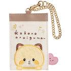 San-X Kokoro Araiguma Pass/Card Holder