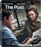 The Post (2017) (Blu-ray + DVD + Digital) (US Version)
