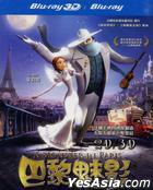 A Monster in Paris (Blu-ray) (3D + 2D) (Taiwan Version)