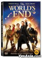 The World's End (DVD) (Korea Version)