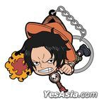 One Piece : Ace Tsumamare Key Holder (Fighting ver.)