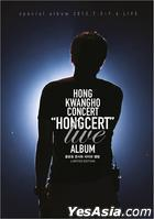Hong Kwang Ho Concert 'Hongcert' Live Album (CD + Special DVD) (Limited Edition)